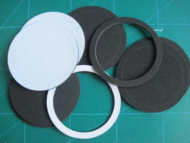 Self Adhesive Rubber Foam Seal O Ring
