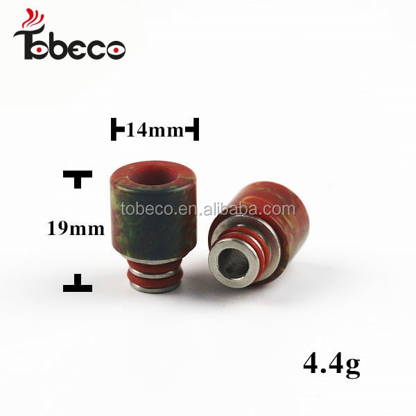 510 Vape Driptip/Epoxy Resin Drip Tips fit for Tobeco mini super tank with adaptor