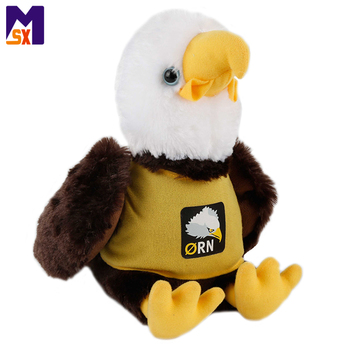 Kids soft stuffed animal toys cute eagle plush toy