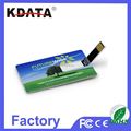OEM Credit Card Slim Card Backup USB Device USB Flash Drive