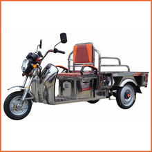 stainless flat tricycle for cargo used