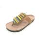 2019 Latest Ladies Summer Bohemian Designs Micro Fiber African Beaded Boho Cork Sandals