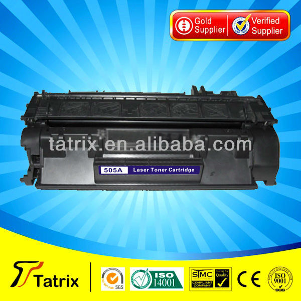 High Volume CE505A 505A (6500pages) compatible toner cartridge for hp printer 2050 2035/ 2030/ 2055/ for canon LBP6300 LBP6650