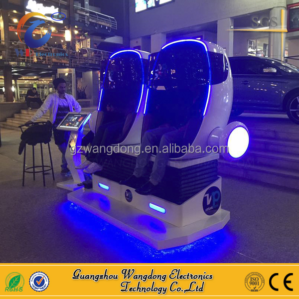 dynamic virtual amusement park 9d vr simulator, 9d egg chair 360 vr camera