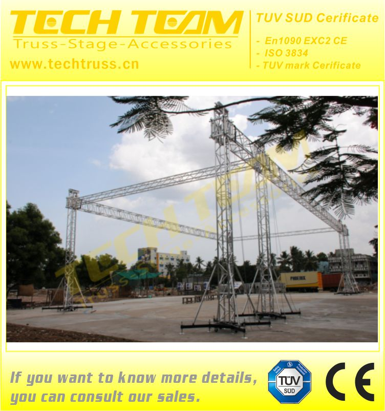 1500mm Triangle Foshan Lighting Smart DJ Truss