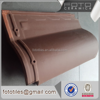 Chinese foshan brown building materials ceramic shingle stone flat roof tile