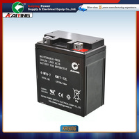 rechargeable battery for Motorcycle 12V7Ah YTX7A-BS with free maintenance type