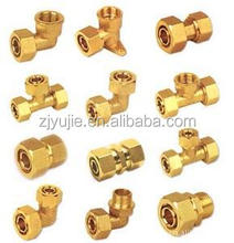 58-3% brass compression fittings for pex-al-pex pipes