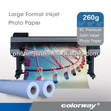 Rough surface photo paper/RC base/Inkjet photo paper