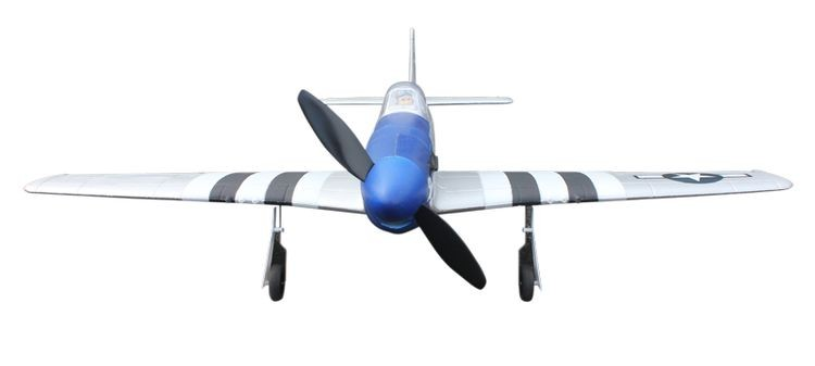 1068964-762mm Wing Span Remote Control RC Warbird Plane 2.4G RTF