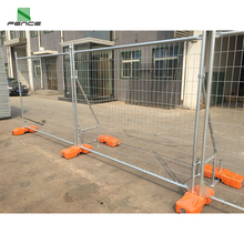 Hot dipped Galvanized Metal Steel Construction Temporary Fence