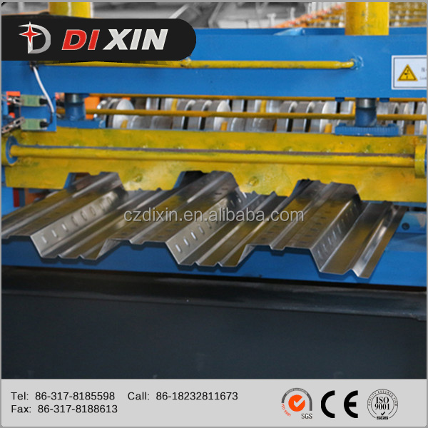 Dixin High Quality Steel Floor Deck Panel Cold Forming Machine