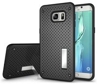 Stylish Mobile Cover for Samsung galaxy Note 5 Mesh Polka Dot Kickstand Phone Cases