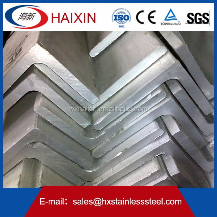 High quality cheap price 321 stainless steel bar/angle iron sizes