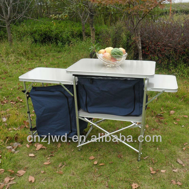Outbound folding Basecamp Kitchen / deluxe culinary setup for outdoor/Camping Cupboard
