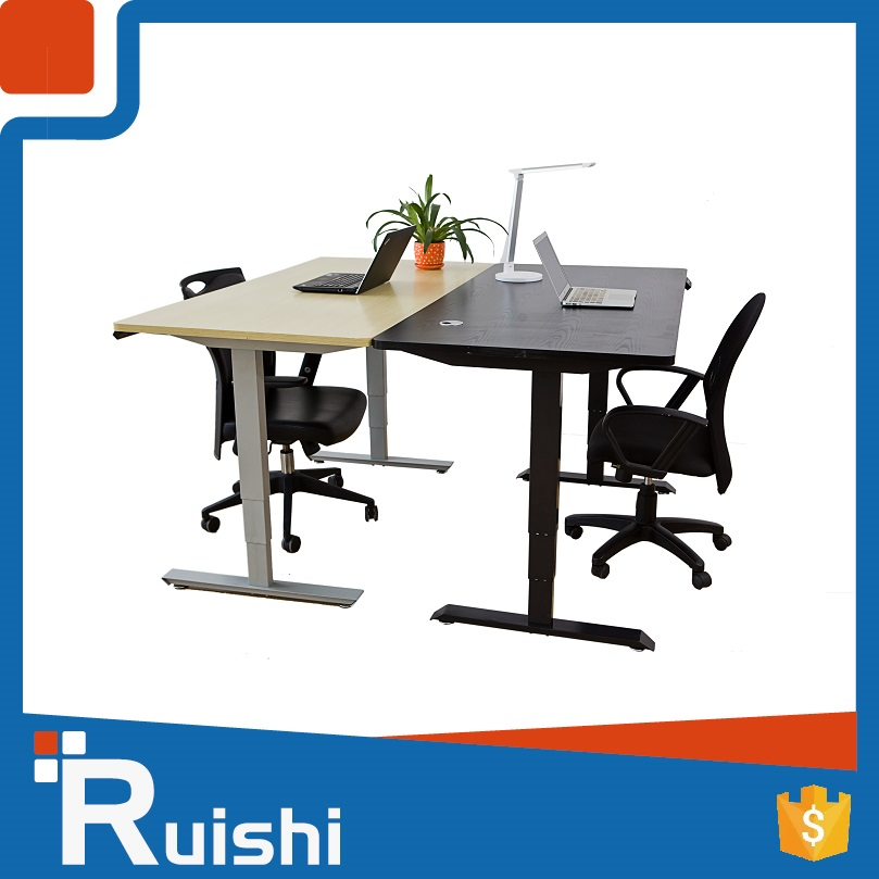 Height adjustable office laptop model desk or table