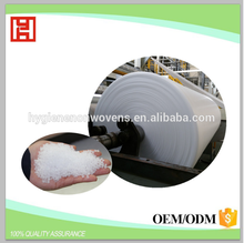 Hydrophilic biodegradable PP spunbond nonwoven fabric for baby diaper wet wipes medical