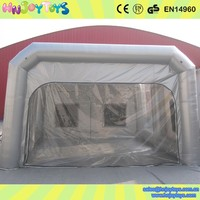 Alibaba Trade Assurance Inflatable Spray Booth, Portable Paint Booth, Car Spray Booth
