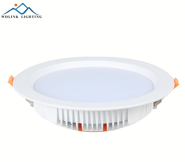 6 Inch Square Recessed 15W Outdoor UL LED Grille Downlight Retrofitt Conversion