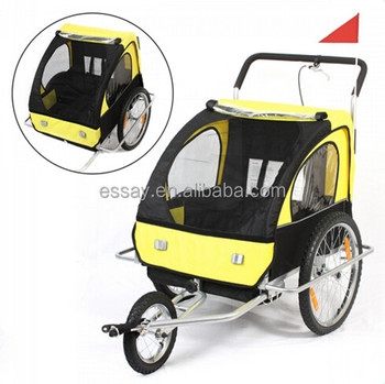 suspension kids bicycle trailer(90096) New!