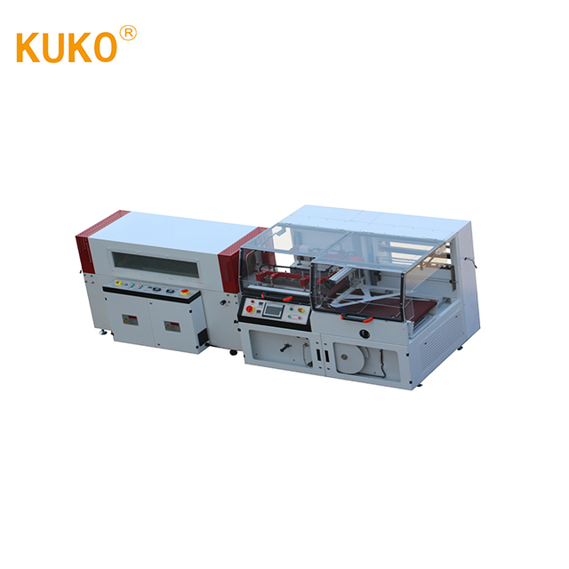 Heat Fully Automatic PET bottle Thermal vertical Shrink Film Packing Machine / Wrapping Equipment