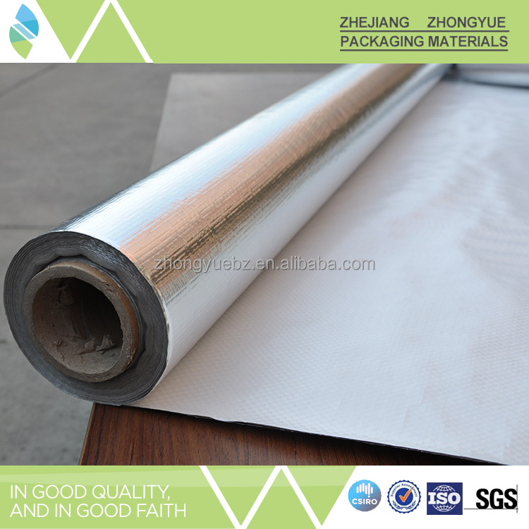 Perforated energy saving aluminum foil heat insulation materials