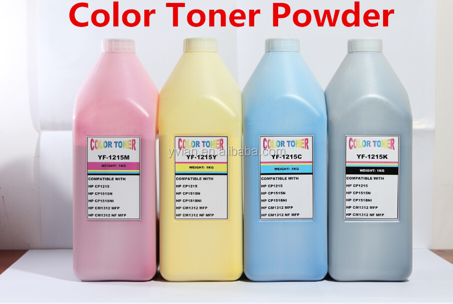 Compatible toner powder for HP /Samsung /Kyocera /Lexmark /Brother/ black laser printer toner powder