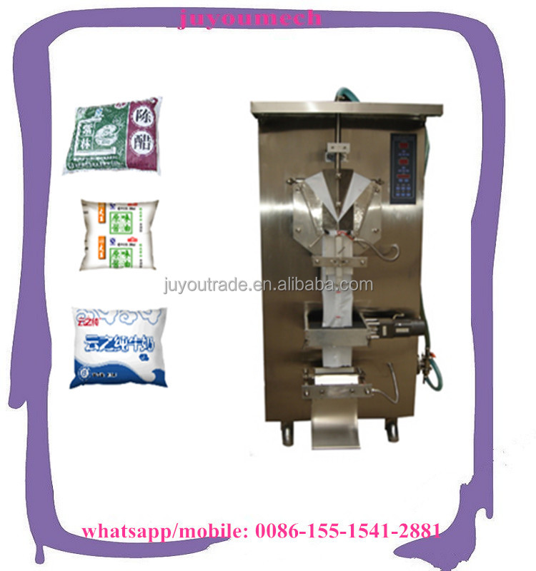 Small Vertical Automatic Liquid Packaging Machine with Factory Price