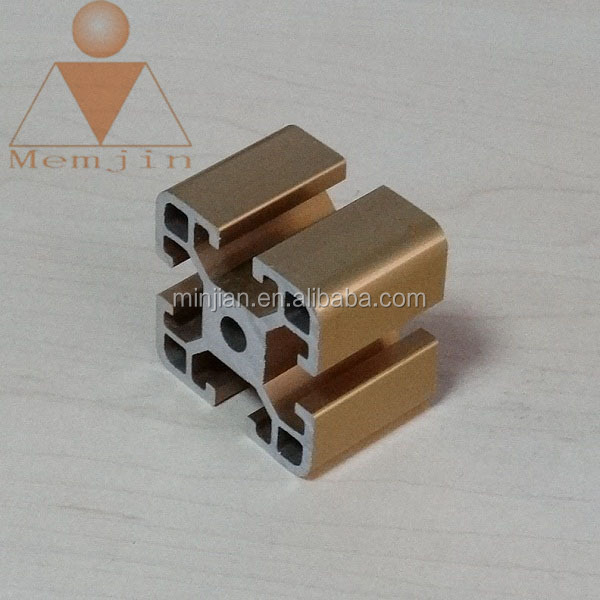 Wooden grain t-slot aluminum extrusion profile manufacture from China factory