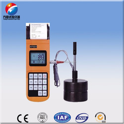 FY310 portable hardness tester usage testing ball graphite cast iron