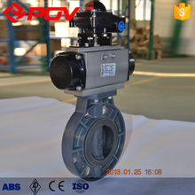 Low pressure cpvc butterfly valve made in China