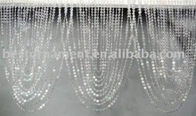 Crystal Swag Valance