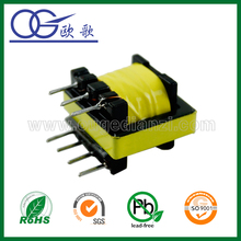 EE19 car battery transformer,vertical,pin2+2