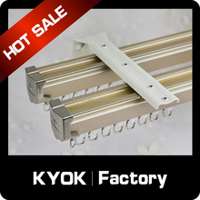 KYOK balcony curtain track flexible curtain track, gold metal box accessories decorative accessories factory wholesale