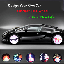 New Arrival Q1 Colorful Programmable Wheel Lights For Car Fashion And Beautiful Car Programmable LED Wheel lights
