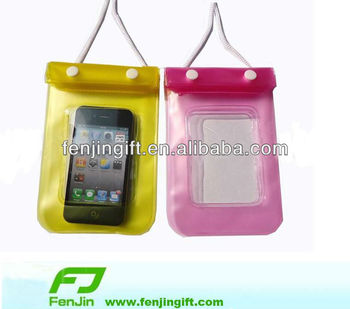 pvc waterproof handphone bag
