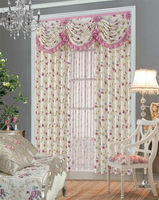 good quality polyester fancy living room curtains