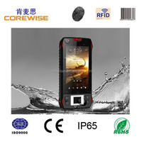 black 400g IP65,Rugged Android Handheld Industrial PDA with RFID Reader