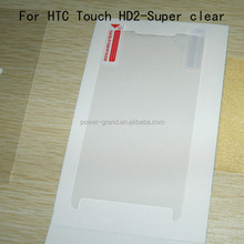 3-Layer PET Anti-scratch Screen protector guard film for HTC Touch HD2 leo