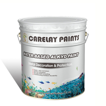 Outstanding outdoor durability anti corrosion water-based alkyd paint