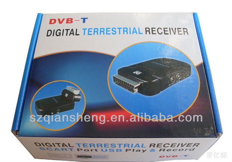 MINI SCART HD DVB-T DIGITAL TV BOX TERRESTRIAL RECEIVER