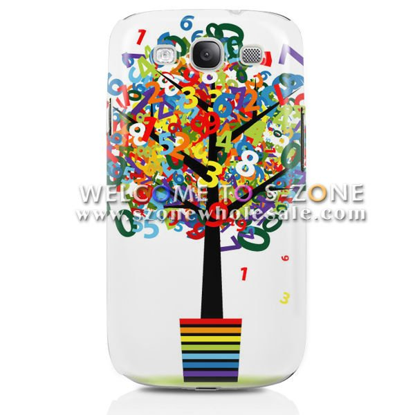 PC case cover for samsung galaxy s3 hard case
