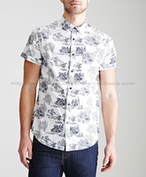 manufacturer designs wholesale cotton oxford short sleeve shirt men