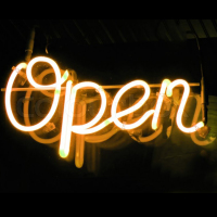 welcome lighted open sign,glowing neon open signs,new lighted open sign