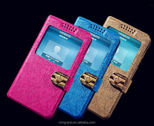 Smart Window View Folio Case for Sony LT27i/MT27i wallet design Magnetic Hard Holster Smart Phone Case