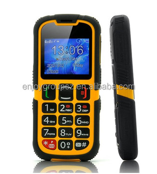 Protable Long Battery Small Size Outdoor Cell Phones Qwerty Keyboard Rugged Phone