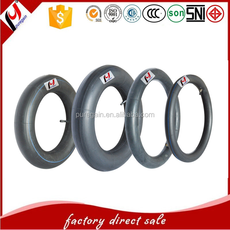 Puregain tyre high quality motorcycle butyl boy inner tube for sale