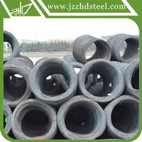 Hot rolled steel wire rod for SAE1008B standard