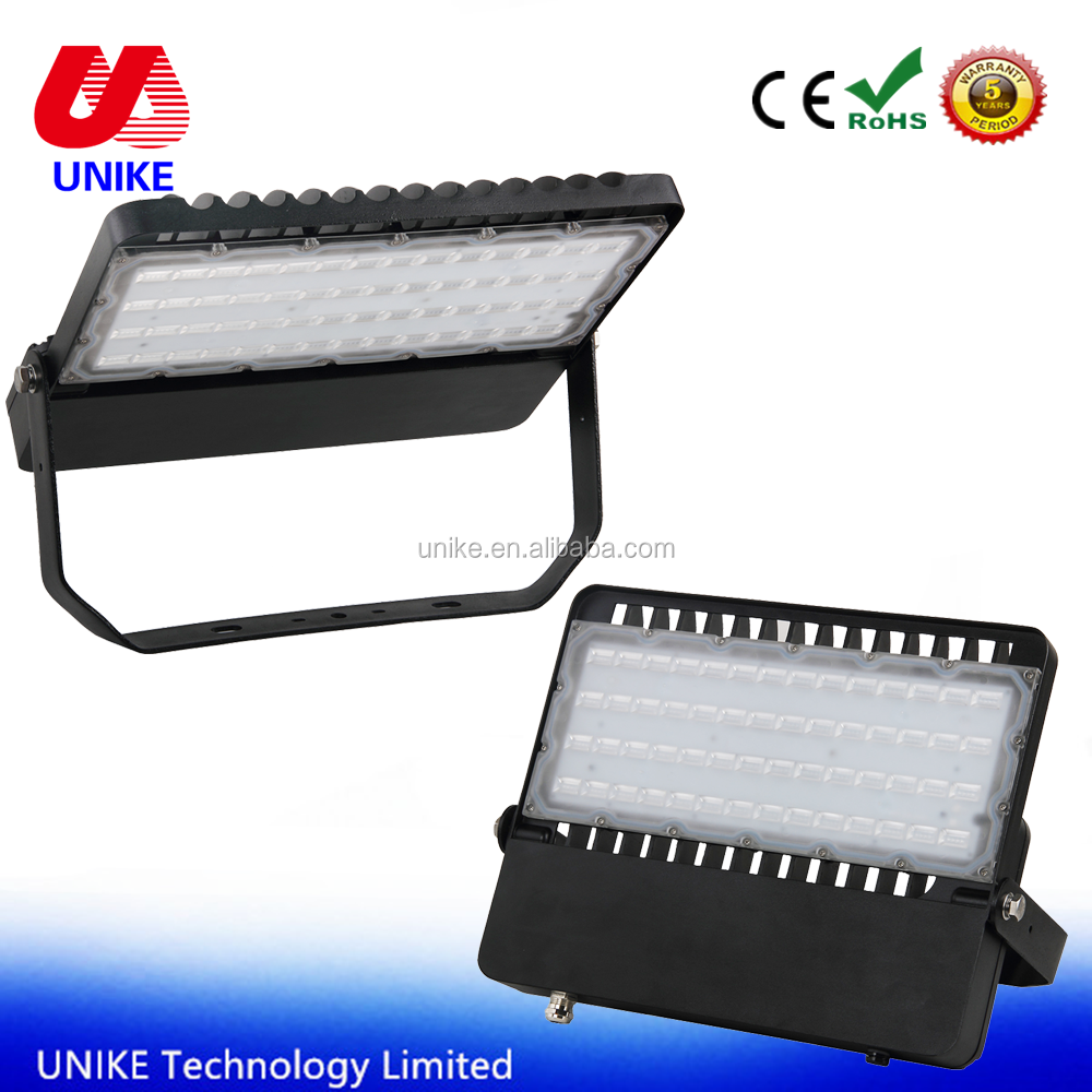 UNK-FL250D 250w new Design up lighting Waterproof aluminum housing <strong>U</strong> bracket led Wide Flood Light