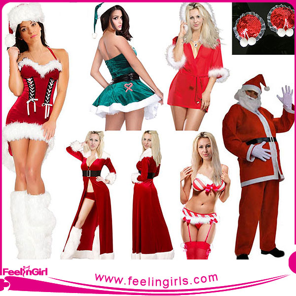 OEM Drop Ship Unique Christmas character Costume for Men